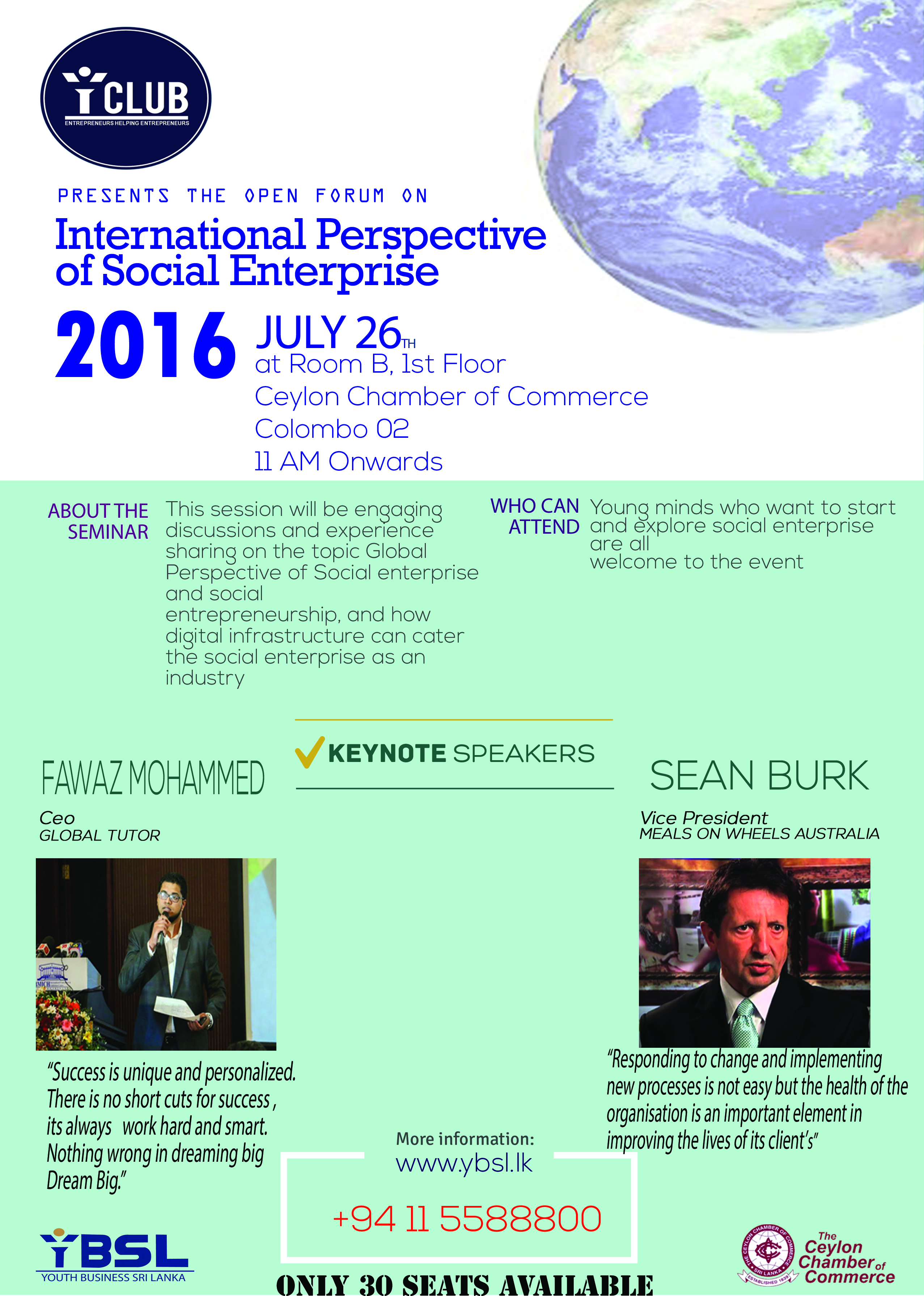 International Perspective of Social EnterpriseYouth Business Sri